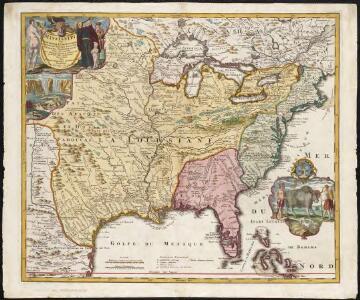Amplissimae regionis Mississipi seu Provinciae Ludovicianae â R.P. Ludovico Hennepin Francisc Miss in America Septentrionali anno 1687