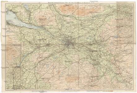 Bartholomew's pocket map of the environs of Glasgow