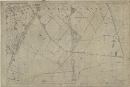 Middlesex I.16 (includes: Enfield St Andrew; Monken Hadley; South Mimms) - 25 Inch Map