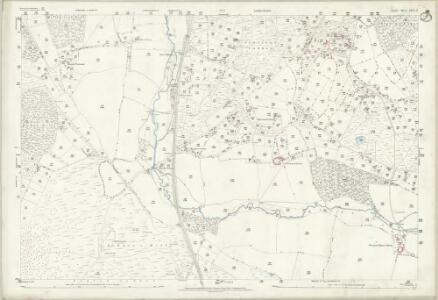 Dorset XXVI.3 (includes: Edmondsham; Horton; Verwood; Wimborne St Giles; Woodlands) - 25 Inch Map