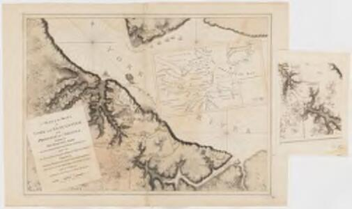 Charts of the coast and harbors of New England : from surveys taken by Saml. Holland Esqr. Survr. Genr. of Lands for the Northern District of North America and Geo. Sproule, Chas. Blaskowitz, Jam.s Grant and Thos. Wheeler his assistants : Portion of the Virginia Coast