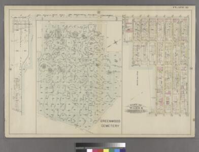 Plate 35: Part of Ward 8. Brooklyn, N.Y.