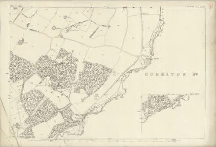 Hampshire and Isle of Wight LXVII.2 (with inset LXVII.6) (includes: Droxford; Soberton; Swanmore) - 25 Inch Map