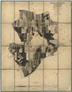 Porostní mapa revíru Jalový Dvůr (Branka) a Horní Výšina