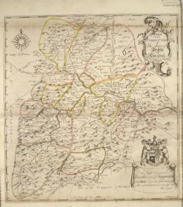 A new and correct map of the Shire of Peebles or Tweeddale / survey'd by Will. Edgar, 1741 ; R. Cooper sculp.