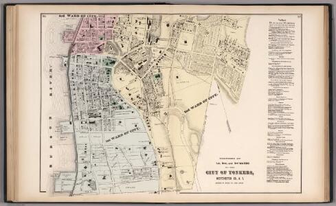 Portions of 1st, 2nd, 3rd Wards of the City of Yonkers, Westchester Co., N.Y.