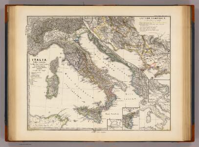 Italia, Gallia cisalpina, Sicilia, Sardinia, Corsica ab adventu Gallorum usque ad bellum Marsicum.