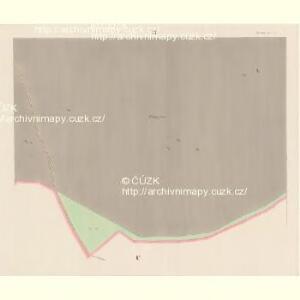 Wossek (Wosek) - c5528-1-006 - Kaiserpflichtexemplar der Landkarten des stabilen Katasters