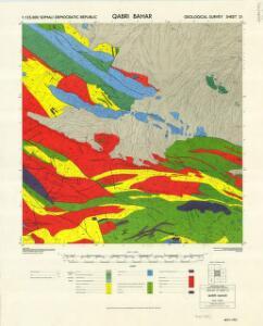 1 : 125,000 Somaliland Protectorate. Geological Survey. D.C.S. 1076, Qabri Bahar