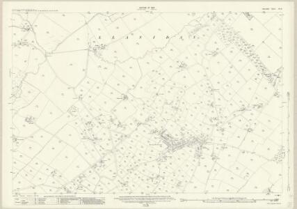 Anglesey XXII.8 (includes: Llanddaniel Fab; Llangeinwen; Llanidan) - 25 Inch Map