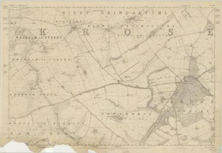 Yorkshire 143 - OS Six-Inch Map