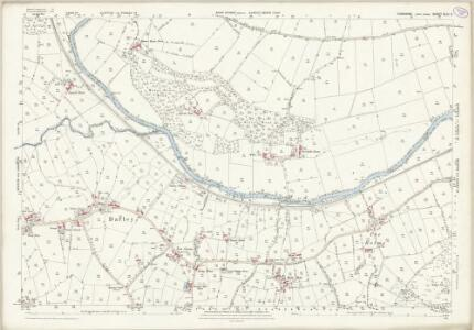 Yorkshire CLIII.2 (includes: Birstwith; Dacre; Hartwith Cum Winsley; Menwith With Darley) - 25 Inch Map