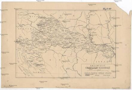 Království Chorvátsko Slavonské [sic]