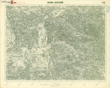 III. vojenské mapování 4763