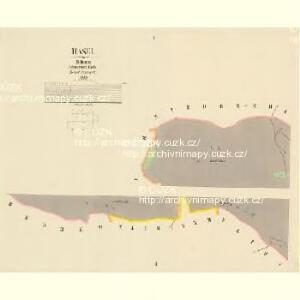 Hasel - c4128-2-001 - Kaiserpflichtexemplar der Landkarten des stabilen Katasters