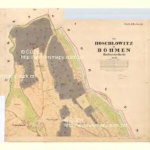 Hoschlowitz - c1794-1-001 - Kaiserpflichtexemplar der Landkarten des stabilen Katasters