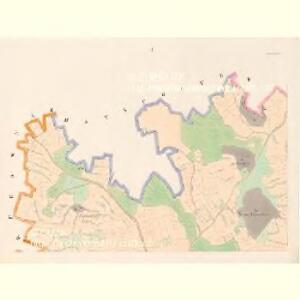 Sobieschitz (Soběssicze) - c7121-1-001 - Kaiserpflichtexemplar der Landkarten des stabilen Katasters