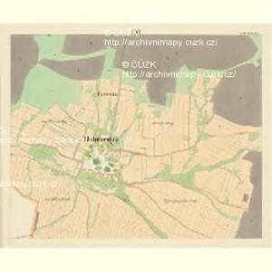 Dobrzegitz - c1204-1-014 - Kaiserpflichtexemplar der Landkarten des stabilen Katasters