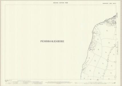Cardiganshire XXXVII.3 (includes: Cardigan; St Dogmaels) - 25 Inch Map