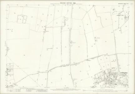 Berkshire XIV.11 (includes: Ardington; Grove; Lockinge; Wantage) - 25 Inch Map