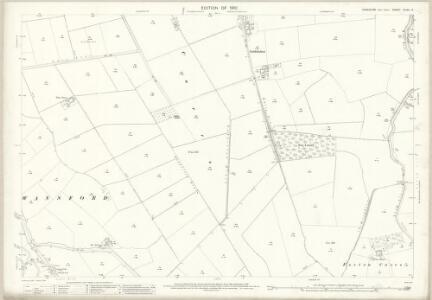 Yorkshire CLXII.14 (includes: Beeford; Foston; Harpham; Nafferton; Skerne) - 25 Inch Map