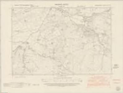 Cardiganshire XXI.NE - OS Six-Inch Map