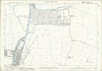 Hertfordshire XLII.13 (includes: Cheshunt; Enfield St Andrew; Waltham Holy Cross) - 25 Inch Map