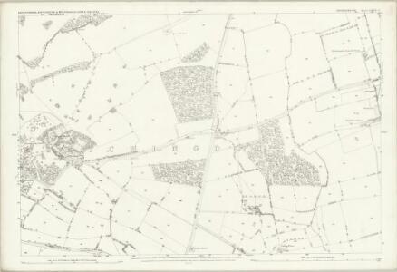 Oxfordshire XXVII.3 (includes: Bletchingdon; Kirtlington; Weston on the Green) - 25 Inch Map