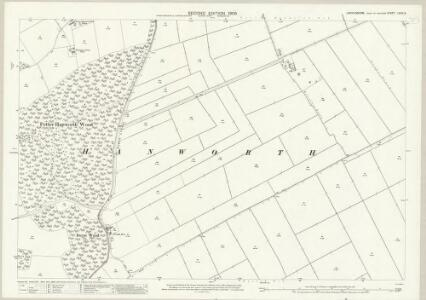 Lincolnshire LXXIX.3 (includes: Nocton; Potter Hanworth) - 25 Inch Map