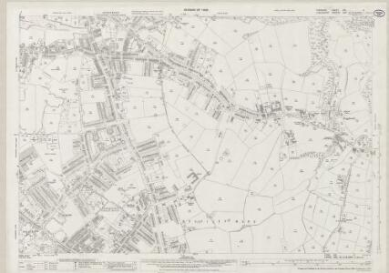 Cheshire XIX.4 (includes: Stockport) - 25 Inch Map