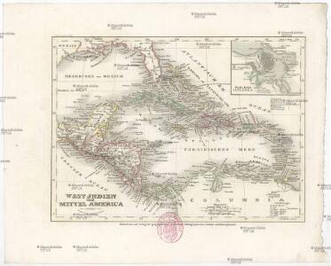 West Jndien und Mittel America