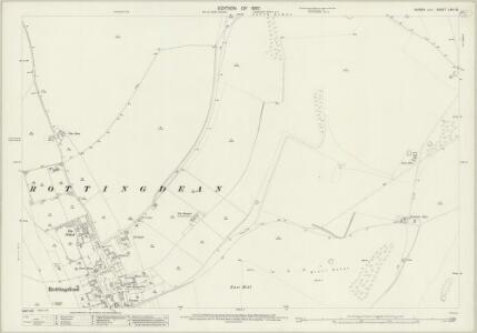 Sussex LXVI.16 (includes: Brighton) - 25 Inch Map