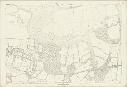 Hampshire and Isle of Wight LXXXIX.15 (includes: Calbourne) - 25 Inch Map
