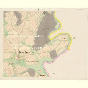 Gross Poreschin - c6026-1-003 - Kaiserpflichtexemplar der Landkarten des stabilen Katasters