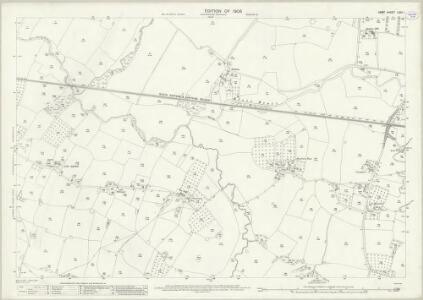 Kent LXIII.1 (includes: Headcorn; Staplehurst) - 25 Inch Map