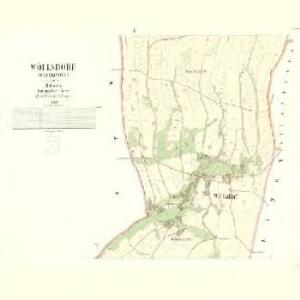 Wöllsdorf (Wlczkowice) - c8679-1-002 - Kaiserpflichtexemplar der Landkarten des stabilen Katasters