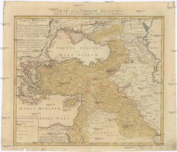 Turcia Asiatica exhibens Natoliam modernam