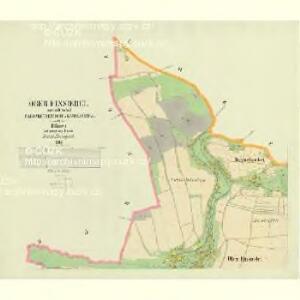 Ober Einsiedel - c2125-1-001 - Kaiserpflichtexemplar der Landkarten des stabilen Katasters