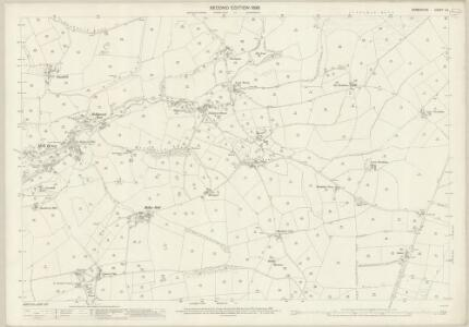 Derbyshire V.6 (includes: Marple; New Mills) - 25 Inch Map