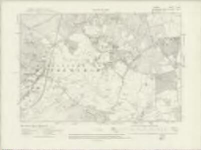 Surrey X.SW - OS Six-Inch Map
