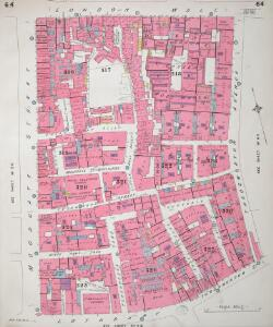 Insurance Plan of City of London Vol. III: sheet 64