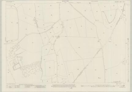 Wiltshire LXX.12 (includes: Bishopstone; Broad Chalke) - 25 Inch Map