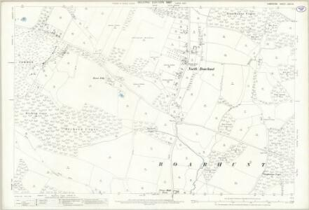Hampshire and Isle of Wight LXVII.14 (includes: Boarhunt; Fareham; Wickham) - 25 Inch Map