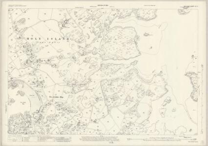 Anglesey XI.11 (includes: Holyhead Rural; Llanynghenedl; Rhoscolyn) - 25 Inch Map