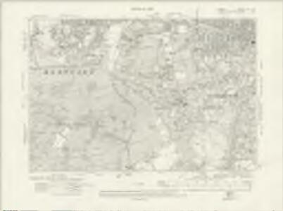 Surrey VII.NW - OS Six-Inch Map