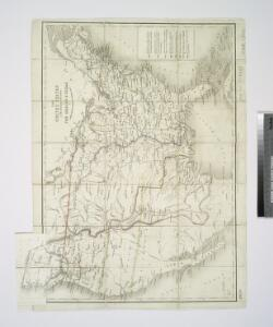 The United States & the relative position of the Oregon & Texas / by James Wyld, Charing Cross East.