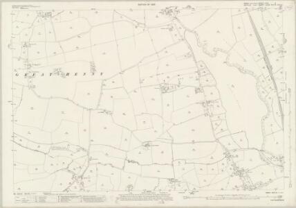 Essex (New Series 1913-) n XVII.2 (includes: Great Henny; Lamarsh; Little Cornard; Middleton) - 25 Inch Map