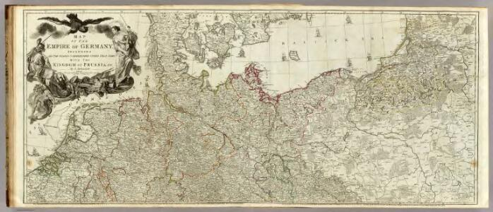 Map of the Empire of Germany (Northern section)