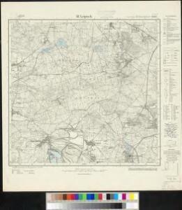 Meßtischblatt 2543 : Kl. Leipisch, 1934