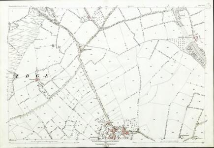 Gloucestershire VII.12 (includes: Aston Subedge; Chipping Campden; Mickleton; Weston Subedge) - 25 Inch Map
